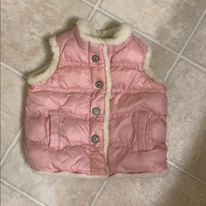 Old navy puffer vest 18-24 month.